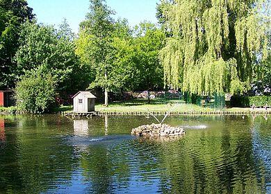 Der Hinz-Park in Marne/Dithmarschen