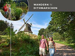 Broschüre: Wandern in Dithmarschen