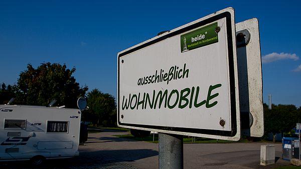 Wohnmobilstellplatz Heide