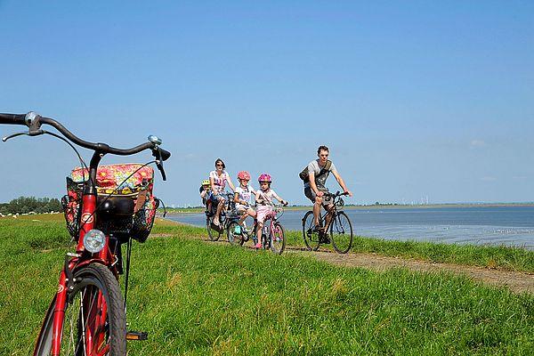 Radfahren in Dithmarschen