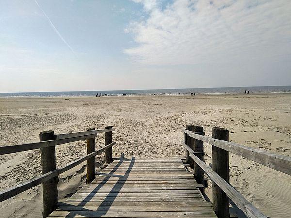 Einen Abstecher von Dithmarschen wert: Strand von St. Peter-Ording