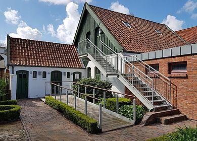 Museumsinsel Pferdestall mit Außentreppe