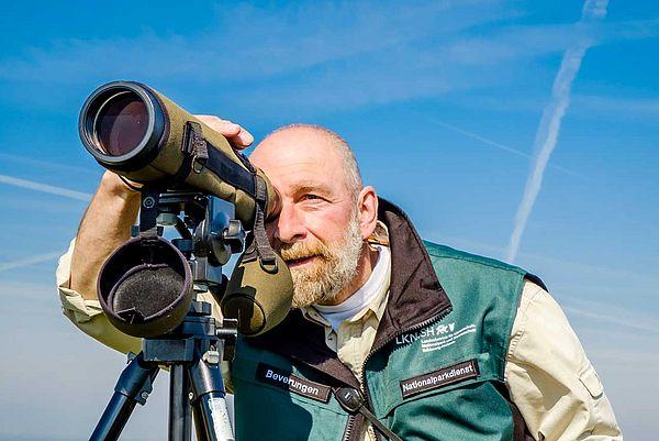 Nationalpark-Ranger Michael Beverungen