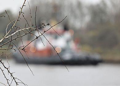 Nord-Ostsee-Kanal bei Hochdonn