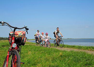 Radeln im Familienurlaub in Dithmarschen
