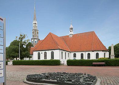 Seitenansicht St. Jürgen Kirche