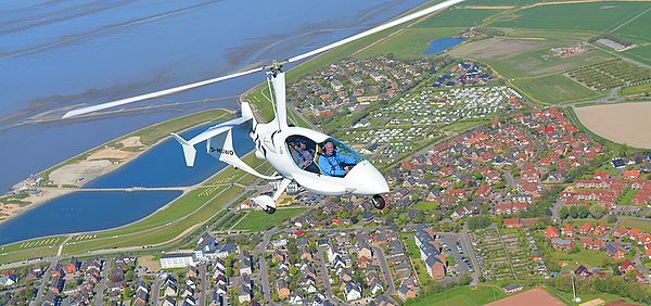 Gyrocopter ELA10 Eclipse