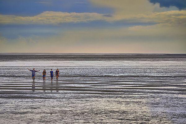 Das Wattenmeer vor Dithmarschen
