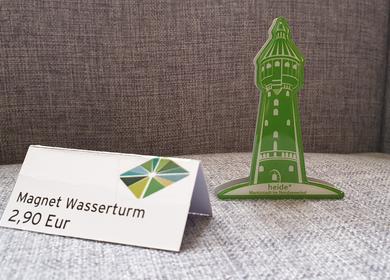 Gründer Magnet in Form des Heider Wasserturms 2,90€